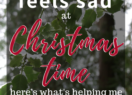 To The Christian Who Feels Sad at Christmas-Tips for physical and spiritual self care during the holidays. | cassiecreley.com