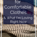 My Criteria For Comfortable Clothes & What I'm Loving Right Now | cassiecreley.com
